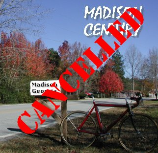 Click here for more info on our Fall 2008 Century Ride beginning and ending in historic Madison, Georgia